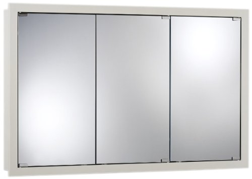 Jensen 740613 48 By 30 By 4-3/4-Inch Granville Oversize Medicine Cabinet, Classic White front-479542