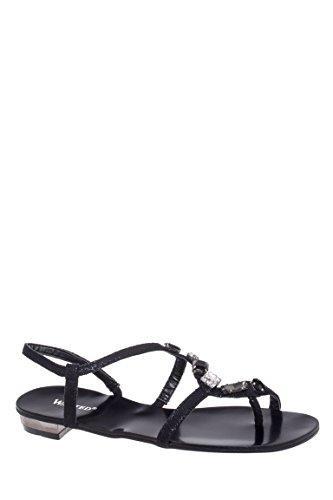 Tilian Low Heel Thong Sandal