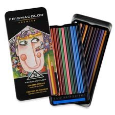 Sanford Ink Corporation Products - Prisma Color Pencil Set, Assorted Colors - Sold As 1 St - Artist-Quality Colored Pencils Are Designed For Every Level Of Expertise. Colors Are Easily Blended, Slow To Wear And Waterproof. Thick Leads Resist Breakage. Sof