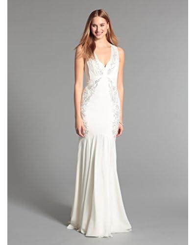 Nicole Miller Women's Embellished Chiffon Gown