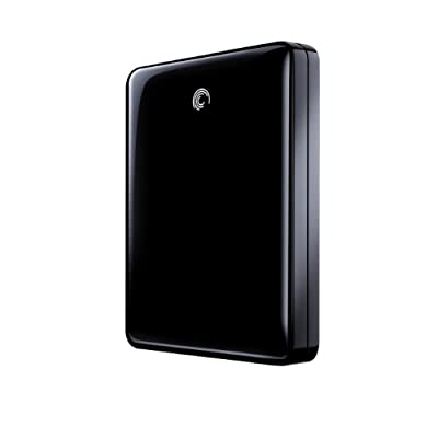 Seagate FreeAgent GoFlex 1TB USB 2.0 Ultra-portable External Hard Drive - Black from Seagate