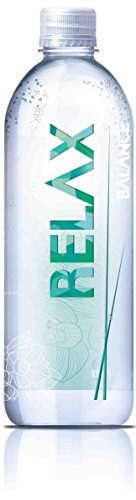 Balance Water Non Flavored Spring Water, Relax, 16.9 Ounce (Pack of 12)