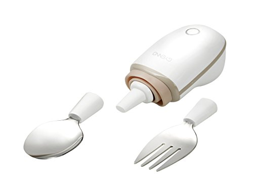 GYENNO Spoon Safe Intelligent Control Modules Anti-Tremble Gyroscopic Spoon and Fork Set Special Gift for People with Hand Tremor (spoon+fork) suitable for Parkinson people (Pen With Hand Boiler compare prices)