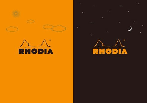 ��ǥ��� RHODIA ��ǥ��� �ǥ� ����� �ʥ��� RHODIA Day & Night 2�����å� �μ̿�
