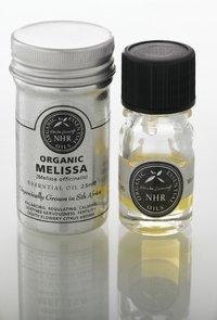 Organic Melissa Essential Oil - Lemon Balm (Melissa officinalis) (10 litres (£1345.00/litre)) by NHR Organic Oils