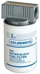 Goldenrod Spin-On Water Block Filter - 3 4in Fittings Model 596-3 4B0000AXECP
