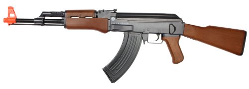 Kalashnikov AK47 Full Stock Plastic Airsoft Rifle