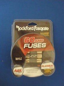 Rockford Fosgate 60 Amp AGU Fuse, 4-Pack