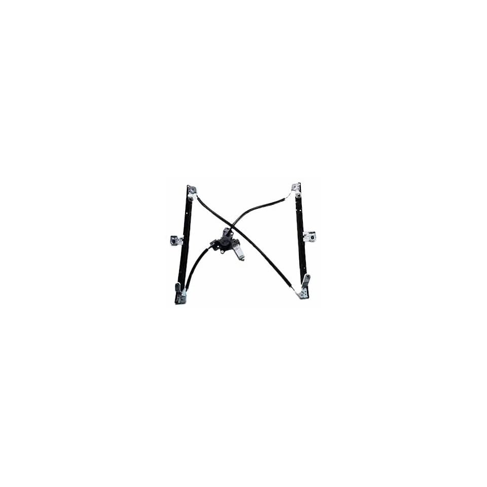 TYC 660147 Dodge/Chrysler Front Passenger Side Replacement Power Window Regulator Assembly with Motor