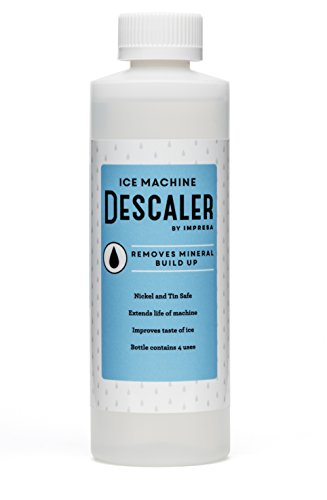 Ice Machine Cleaner / Descaler - 4 Uses Per Bottle - Made in USA - Works on Scotsman, Whirlpool, Manitowoc, KitchenAid and more (Ice Maker Cleaner compare prices)