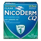 NICODERM CQ STEP 1 14 CLEAR PATCHES Personal Healthcare / Health Care