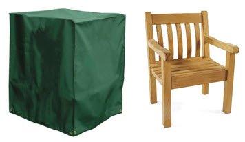 Deluxe Polyester Schutzhülle Abdeckplane für Gartenstuhl, Sessel, Stapel- und Relaxstühle 66cm