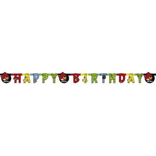 Riethmuller - Festone Happy Birthday Angry Birds