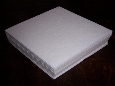 New Self-adhesive Sticky Tear Away Embroidery Stabilizer Backing - 25 Precut Sheets - 12x10
