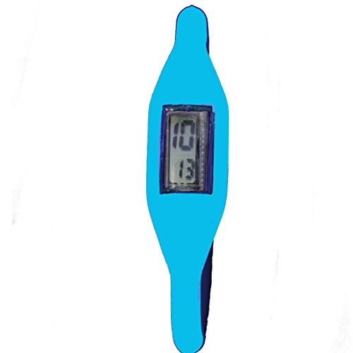 Silicone North Moon Silicone Ion Watch Sky Blue (Multicolor)