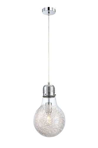 globo-15039-felix-pendant-light-glass-clear