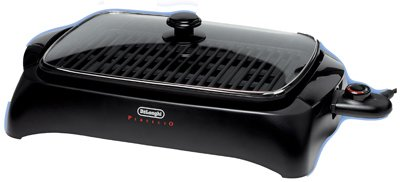 Delonghi BG24 Indoor Grill, Electric, Black/Glass from Delonghi