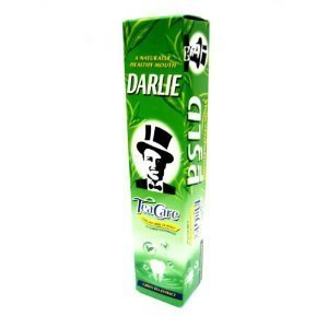 Darlie Tea Care Longjing Green Tea Extract Fluoride Toothpaste 160G.
