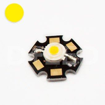 3W High Power Led Chip - Yellow - Dc2.55V Input - 700Ma Output - Energy Saving Lamp - Star - Component Chip - Flood Light Reflector Street Garden Fish Tank Decorative