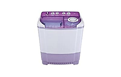 LG P8237R3SA Semi-automatic Top-loading Washing Machine (7.2 Kg, Violet)