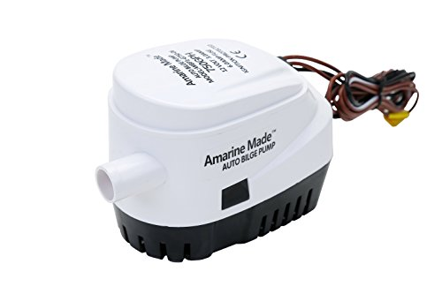 Amarine-made Automatic Submersible Boat Bilge Water Pump 12v 750gph Auto with Float Switch-new