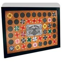 Harley-Davidson Poker Chip Frame 48 Count Black
