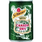 Schweppes Canada Dry Ginger Ale cans Soft Drinks 150ml x 24