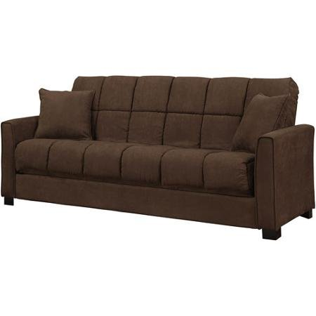 Baja Convert A Couch And Sofa Bed Dark Brown Furniture Sofas Sofabeds