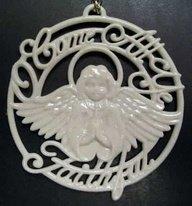 Lenox 1999 Lenox Christmas Ornament Songs of Christmas - O Come All Ye Faithful