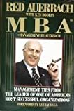 img - for MBA: Management by Red Auerbach: Management Tips from the Leader of One of America's Most Successful Organizations book / textbook / text book
