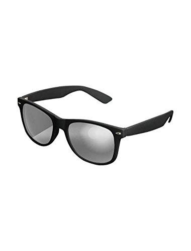 Masterdis Mstrds Shades Likoma Mirror Sunglasses UV400 Occhiali da Sole Specchiati Colore black/silver