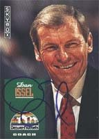 Dan Issel Denver Nuggets 1992 Skybox Coach Autographed Hand Signed Trading Card -... by Hall+of+Fame+Memorabilia