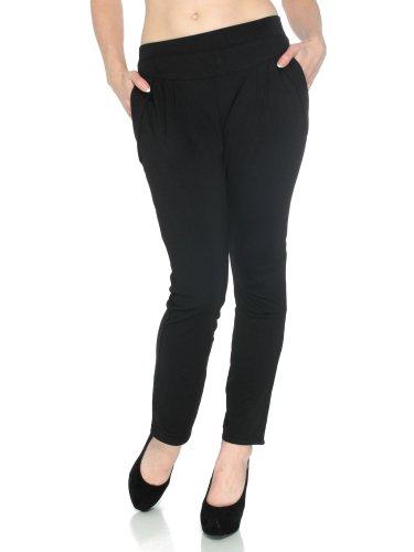 Simplicity Very Trendy High Waist Harem Draped Pocket Stretch Fashion Leggings