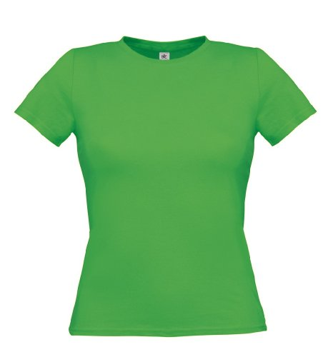 T-Shirt 'Women Only', Farbe:Real Green;Größe:S S,Real Green