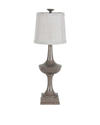 Mercana Barre 1-Light Table Lamp, Gray