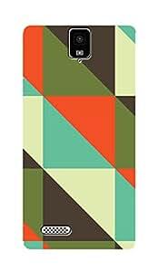 ZAPCASE PRINTED BACK COVER FOR INFOCUS M330- Multicolor