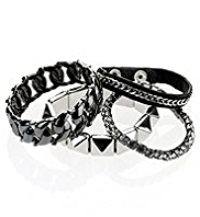 4 Limited Edition Punk & Chain Bracelets