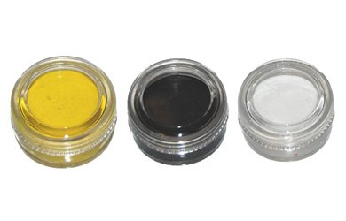 KUSTOM BODY ART FACE PAINT SET STEELERS FOR ADULTS AND KIDS PITTSBURGH