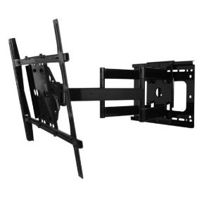 Dual Arm Articulating Tv Wall Mount For Sharp 80 Inch
