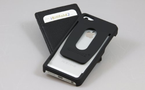 Best Price iPhone 5 Credit Card Case & Attachable Leather Wallet - iBillfold2