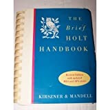 The brief Holt handbook (0155011669) by Kirszner, Laurie G