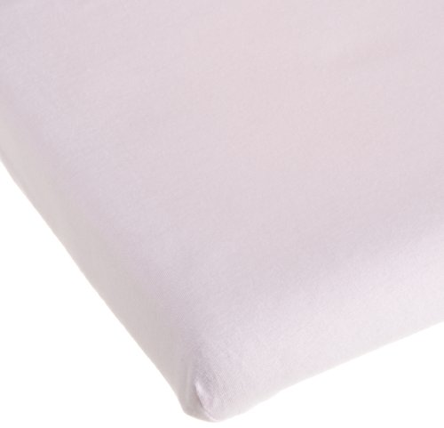 Carters Easy Fit Jersey Portable Crib Fitted Sheet, Pink (Discontinued by Manufacturer)