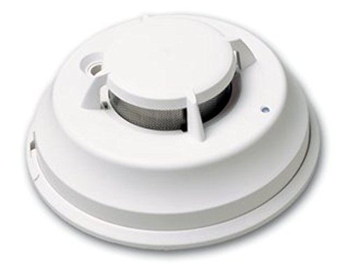 Dsc Fsa-410Bst Wired Photoelectric Smoke Detector (4-Wire With Int Sounder And Heat Detector)