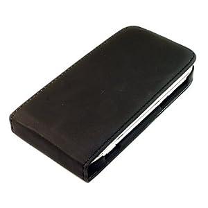 Flip-Case Handy Klapp Tasche Nokia E7 E7-00 Schwarz