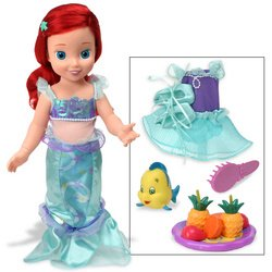Disney Princess: Before Once Upon A Time- Ariel With Fruit Platter
