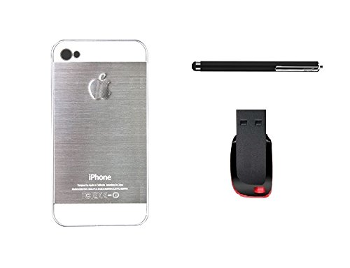 METLY Back cover for Apple IPHONE 5S With Stylus and Pen Drive 16GB Silver