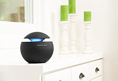 Sharper Image Lighted Globe HEPA Air Purifier