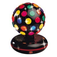 New Spinning Disco Light Ball Karaoke Electric Dj 6.2""