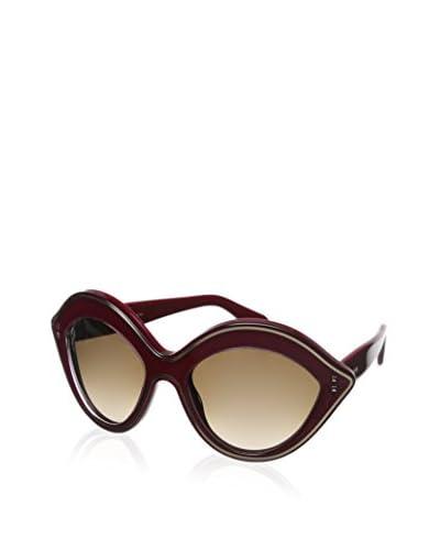 Valentino Women's GLV689S-29132 Sunglasses Altro Occhiali, Red Ombre