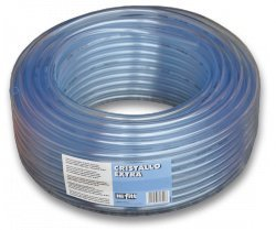 Pvc Clear pipe,flexible,plastic Hose pipe,fish pond,airline 10/13mm ID/OD(1m)BY CRISTALLO®
